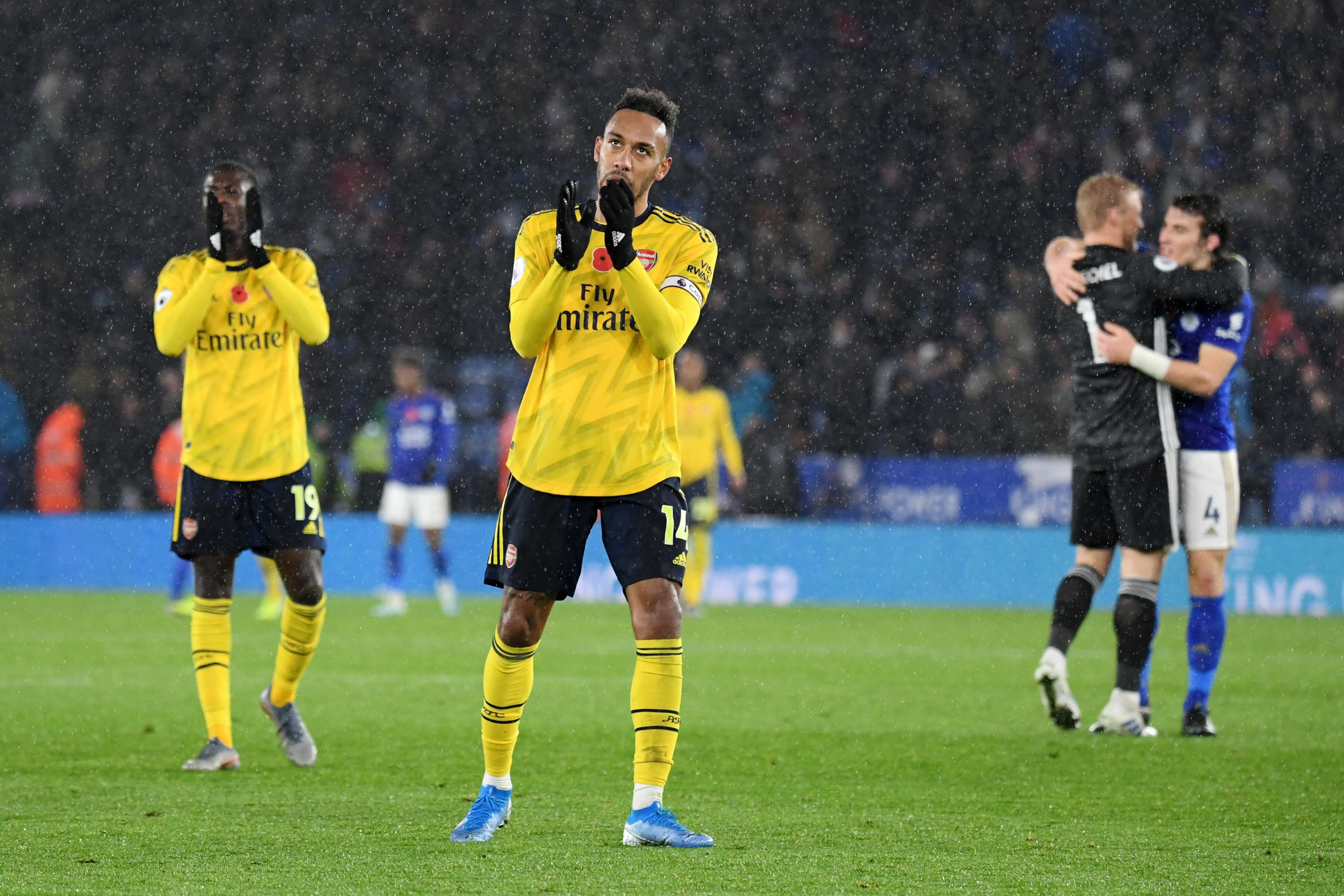 Image result for aubameyang and emery